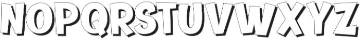 Banthink Shadow otf (100) Font LOWERCASE