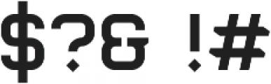 Barakka otf (400) Font OTHER CHARS