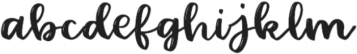 Barbala Regular otf (400) Font LOWERCASE