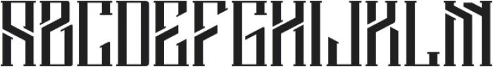 Barbarossa ttf (400) Font LOWERCASE
