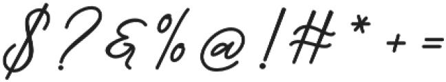 Barbeque Font Regular otf (400) Font OTHER CHARS