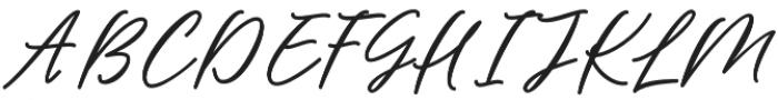 Barbeque Font Regular otf (400) Font UPPERCASE