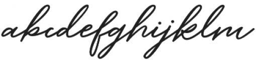 Barbeque Font Regular otf (400) Font LOWERCASE