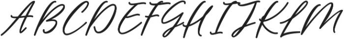 Barbeque Font Regular ttf (400) Font UPPERCASE