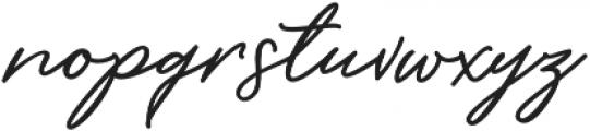 Barbeque Font Regular ttf (400) Font LOWERCASE
