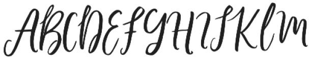 Barbeque Script Regular otf (400) Font UPPERCASE