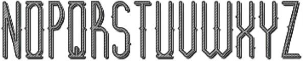 Barber Shop TextureAndShadow otf (400) Font UPPERCASE