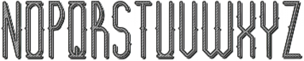 Barber Shop TextureAndShadow otf (400) Font LOWERCASE
