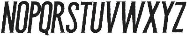 Barberino Rough Italic otf (400) Font LOWERCASE
