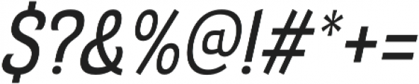 Barcis otf (500) Font OTHER CHARS