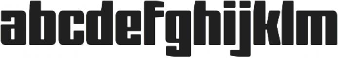 Barge Regular otf (400) Font LOWERCASE