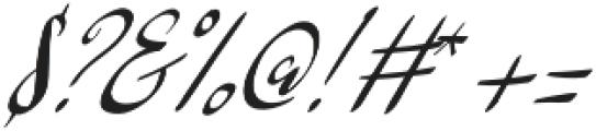 Barkless otf (400) Font OTHER CHARS