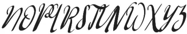Barkless otf (400) Font UPPERCASE