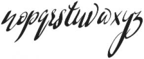 Barkless otf (400) Font LOWERCASE