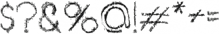 Barkley otf (400) Font OTHER CHARS