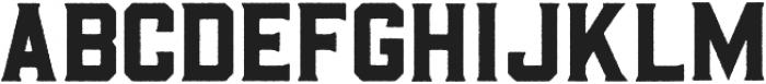 Barley Rough otf (400) Font UPPERCASE