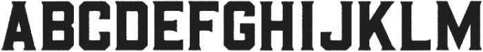 Barley Rough otf (400) Font LOWERCASE