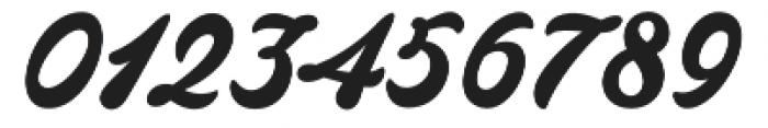 Barley Script otf (400) Font OTHER CHARS
