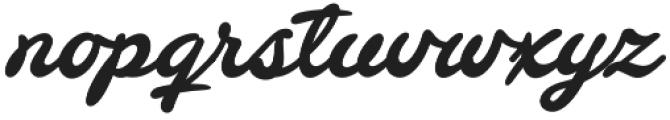Barley Script otf (400) Font LOWERCASE