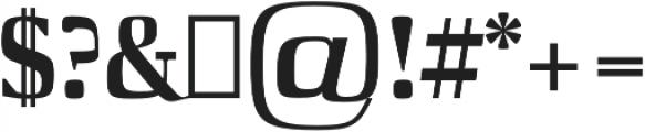 Barnes otf (400) Font OTHER CHARS