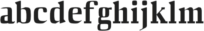 Barnes otf (400) Font LOWERCASE