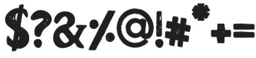 Barnyard Serif otf (400) Font OTHER CHARS