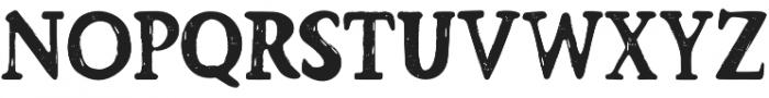 Barnyard Serif otf (400) Font UPPERCASE