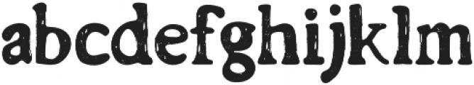 Barnyard Serif otf (400) Font LOWERCASE
