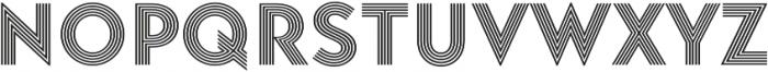 Baro Strip otf (400) Font LOWERCASE