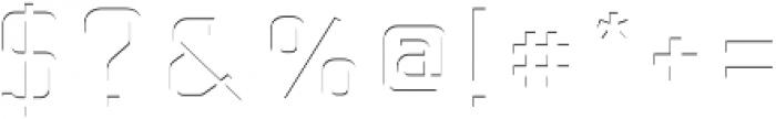 Baroschi HightLight otf (300) Font OTHER CHARS