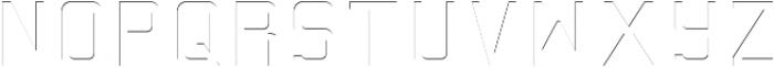 Baroschi HightLight otf (300) Font LOWERCASE