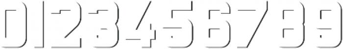 Baroschi SHADOW FX otf (400) Font OTHER CHARS