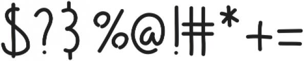 Barrel ttf (400) Font OTHER CHARS