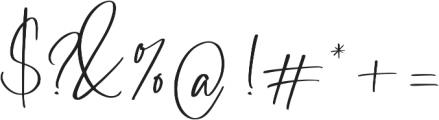 Barrington otf (400) Font OTHER CHARS