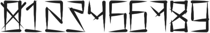 Barrio Rifa ttf (400) Font OTHER CHARS