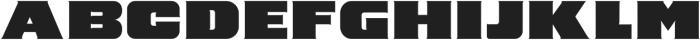 Barry Regular otf (400) Font UPPERCASE