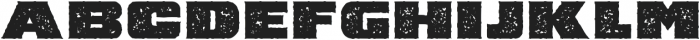 Barry Textured otf (400) Font LOWERCASE