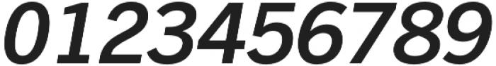 Barter Exchange SemiBold Italic otf (600) Font OTHER CHARS