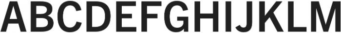 Barter Exchange SemiBold otf (600) Font UPPERCASE