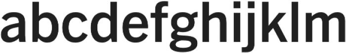 Barter Exchange SemiBold otf (600) Font LOWERCASE