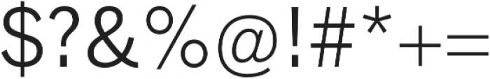 Barter Exchange otf (400) Font OTHER CHARS