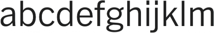 Barter Exchange otf (400) Font LOWERCASE