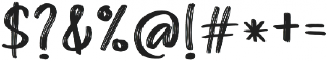 Barty Allen Regular otf (400) Font OTHER CHARS