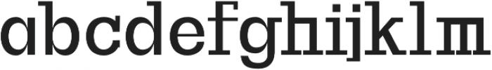 Basel otf (700) Font LOWERCASE