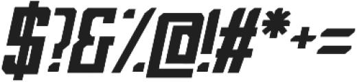 Bashblock otf (400) Font OTHER CHARS