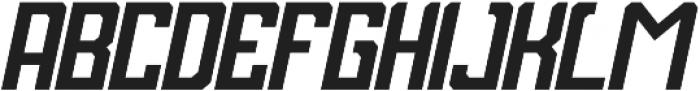 Bashblock otf (400) Font LOWERCASE