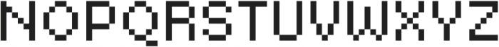Basic Pixel Standard otf (400) Font UPPERCASE