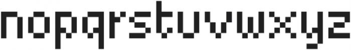 Basic Pixel Standard otf (400) Font LOWERCASE