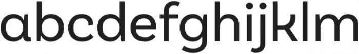 Basic Sans Alt otf (400) Font LOWERCASE