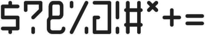 Basic Thin Line Regular otf (100) Font OTHER CHARS